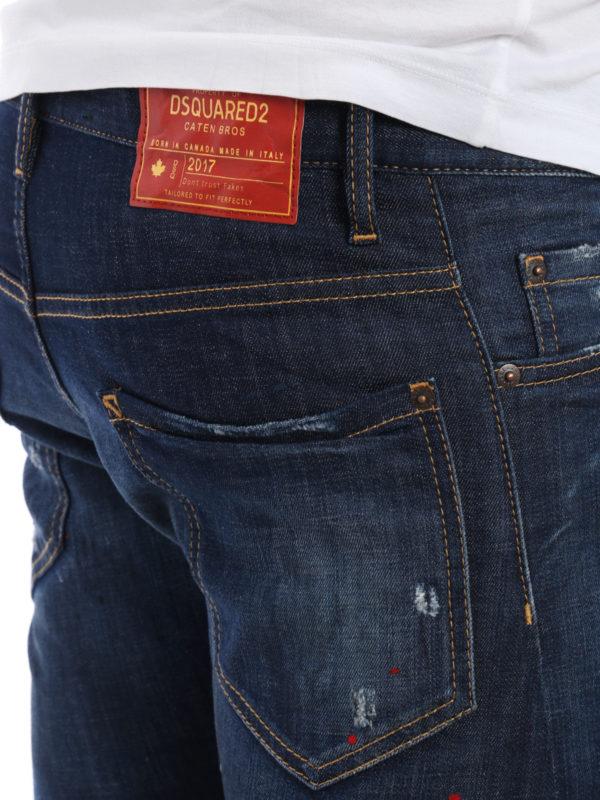 Dsquared2 buy online Straight Leg Jeans - Dark Wash