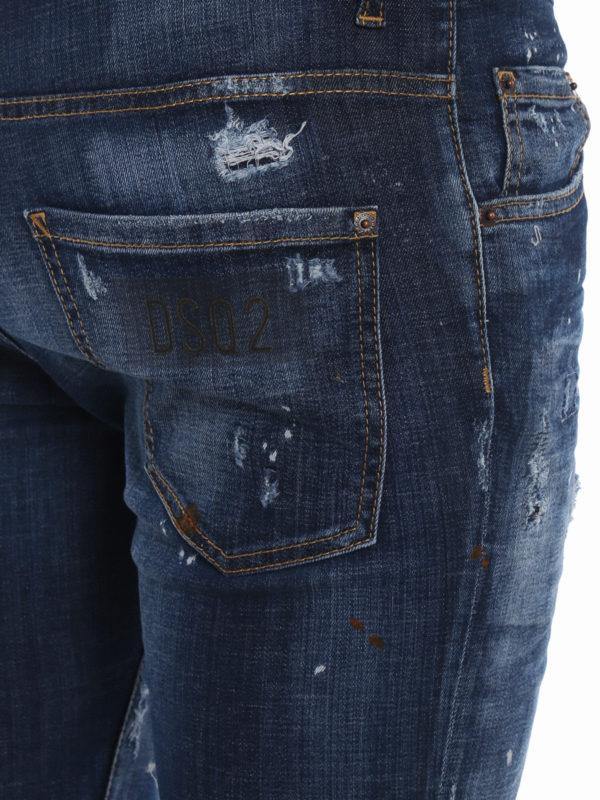 DSQUARED2 buy online Skinny Jeans - Jeansblau