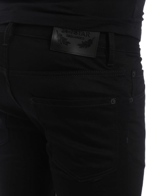 DSQUARED2 buy online Straight Leg Jeans - Schwarz