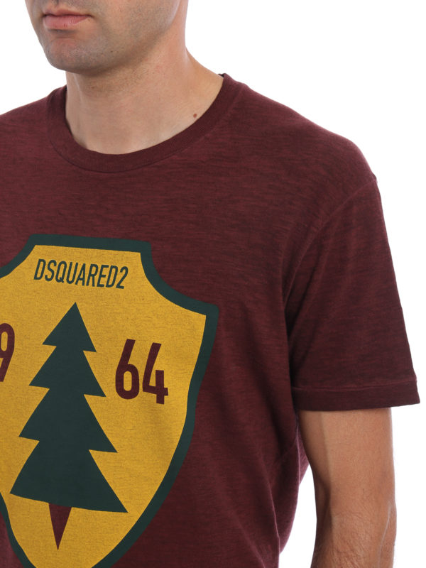 DSQUARED2 buy online T-Shirt - Einfarbig