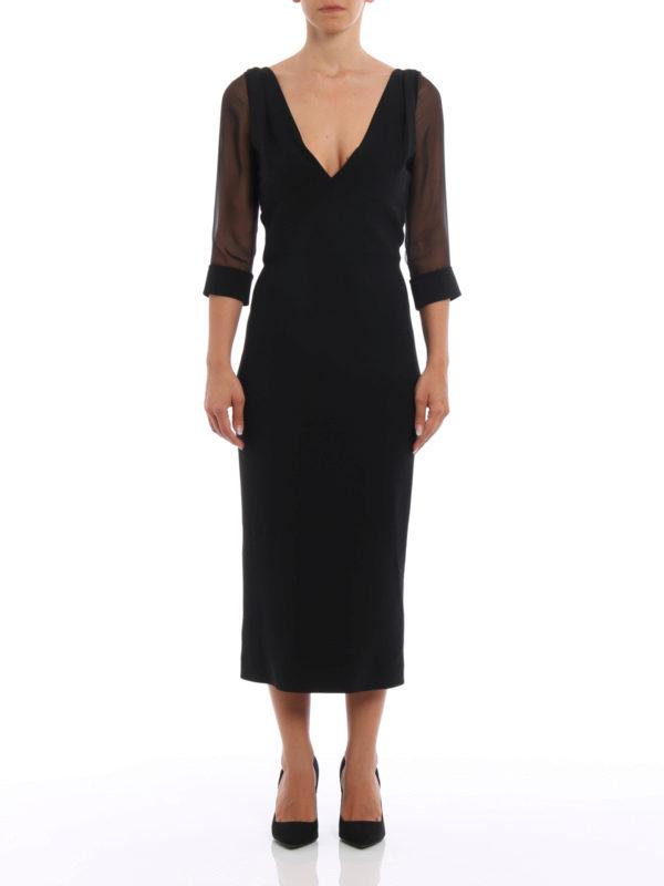 Dsquared2: Abendkleider online - Abendkleid - Schwarz
