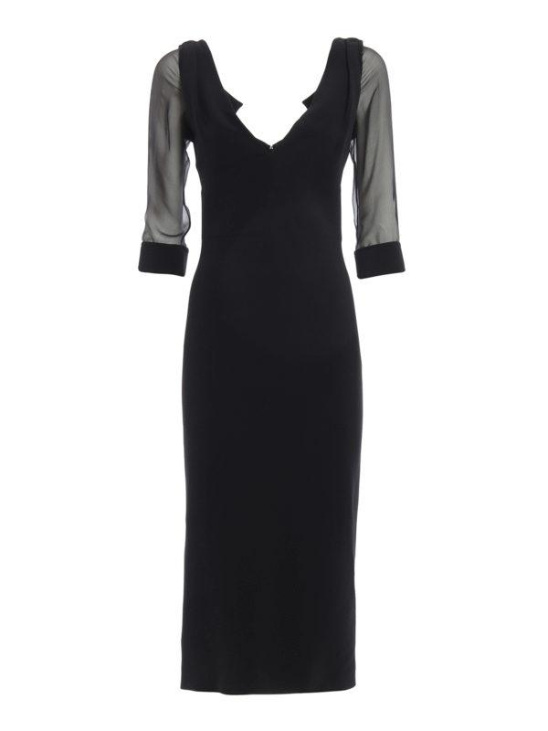 Dsquared2: Abendkleider - Abendkleid - Schwarz