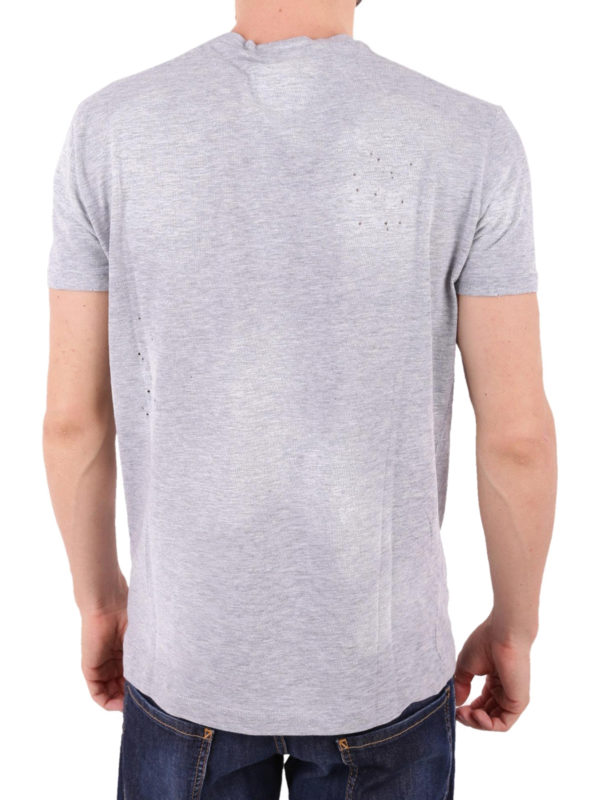 T-Shirt - Grau shop online: DSQUARED2