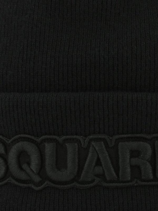 DSQUARED2: Mützen online - Mütze - Schwarz