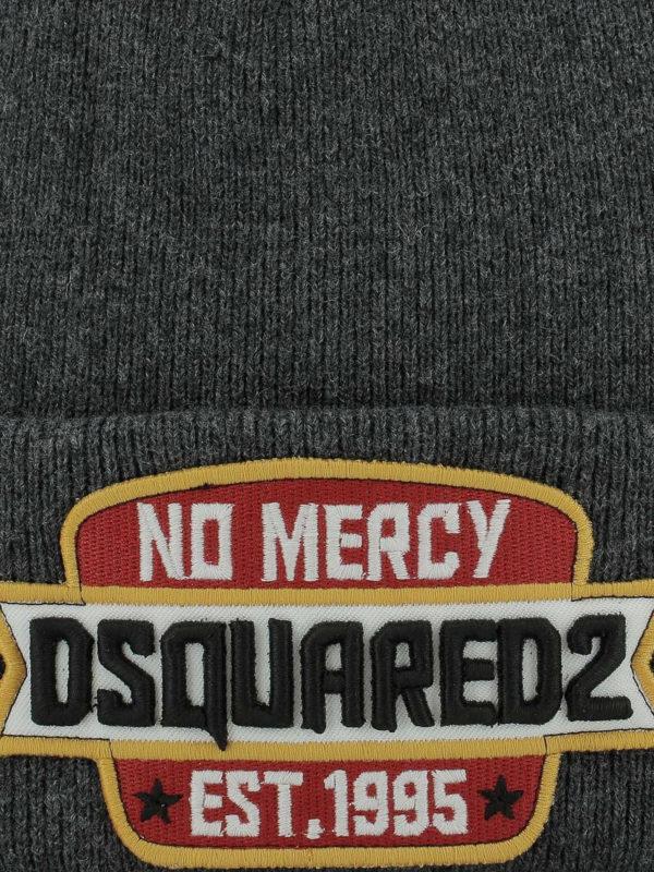 DSQUARED2: Mützen online - Mütze - Grau