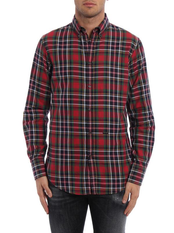 DSQUARED2: Hemden online - Hemd - Gemustert
