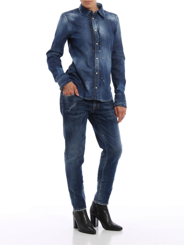 DSQUARED2: Skinny Jeans online - Skinny Jeans - Dark Wash