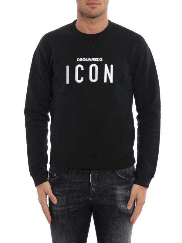 DSQUARED2: Sweatshirts und Pullover online - Sweatshirt - Gemustert