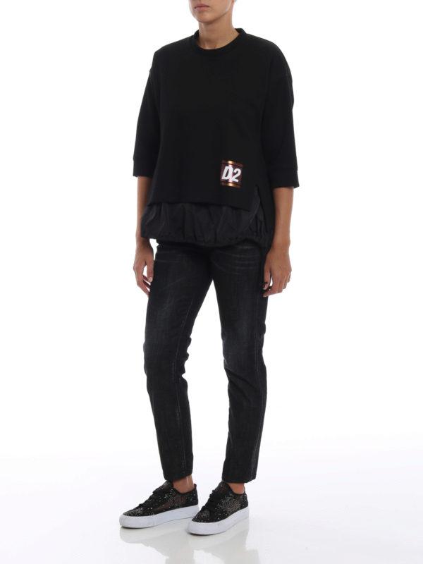 DSQUARED2: Sweatshirts und Pullover online - Sweatshirt - Einfarbig