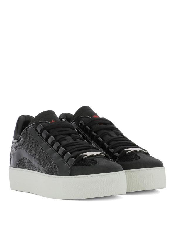 DSQUARED2: Sneaker online - Sneaker - Schwarz