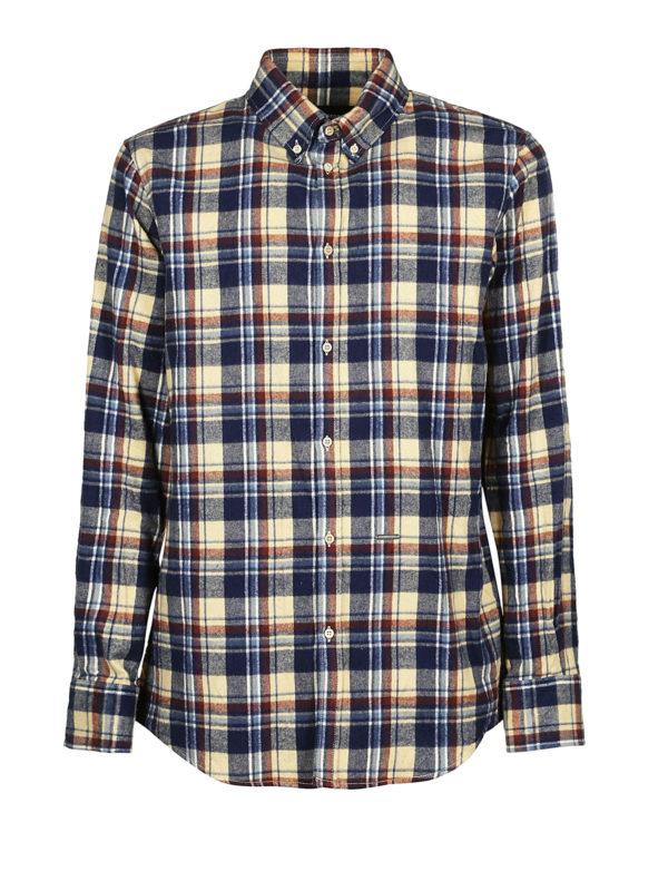 DSQUARED2: Hemden - Hemd - Blau