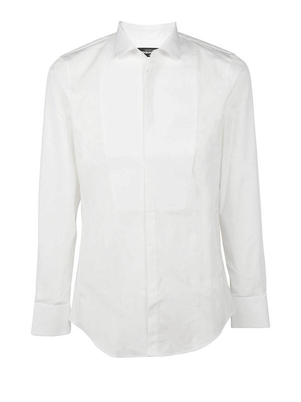 Excepcional Camisa - Blanco de Dsquared2 - Camisas - S74DM0125S35244100 - ATWBQIT