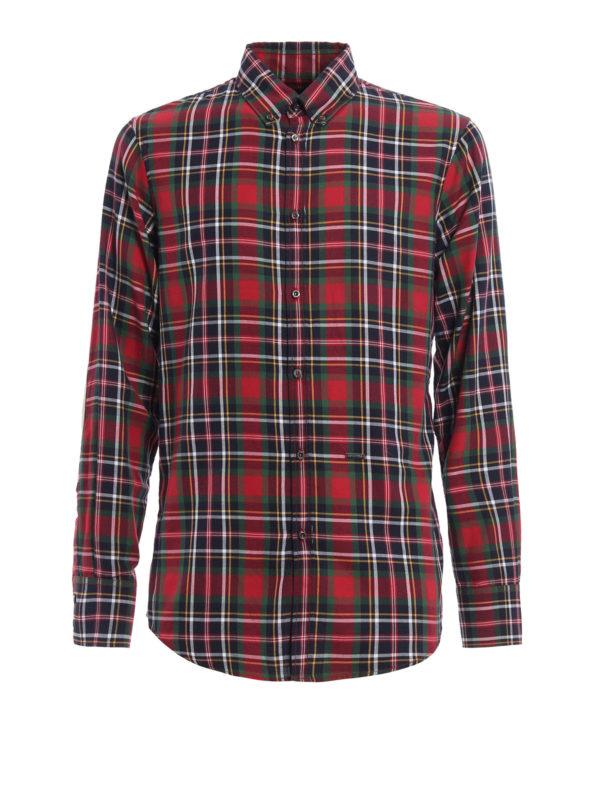 Dsquared2: Hemden - Hemd - Gemustert