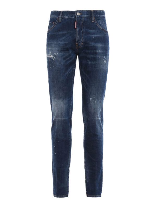 DSQUARED2: Skinny Jeans - Skinny Jeans - Jeansblau