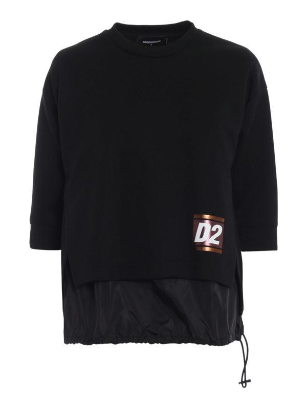 DSQUARED2: Sweatshirts und Pullover - Sweatshirt - Einfarbig