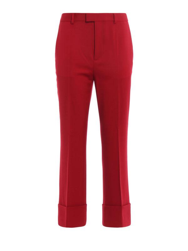 DSQUARED2: Maßgeschneiderte und Formale Hosen - Formale Hose - Rot