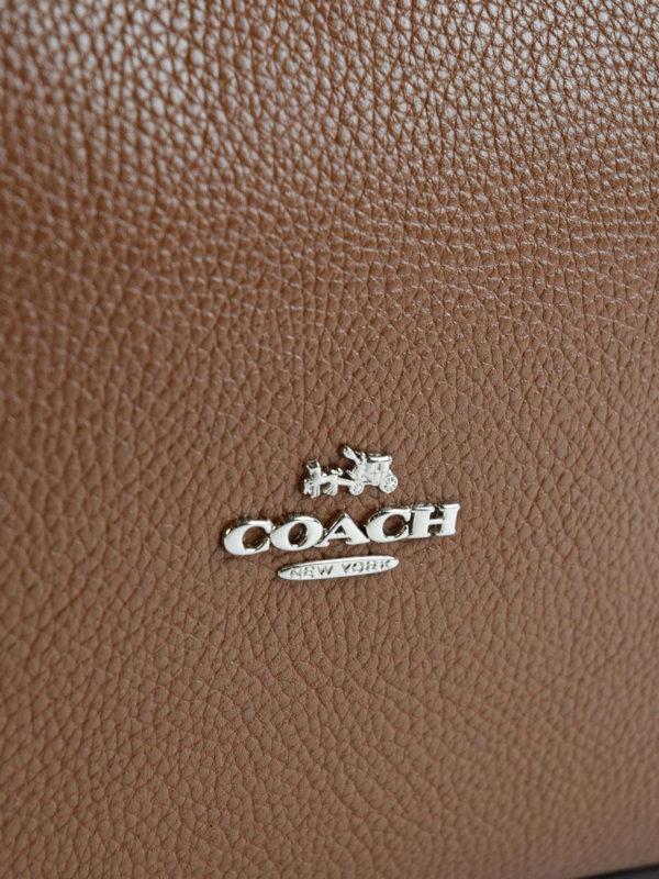 Schultertasche - Hellbraun shop online: COACH