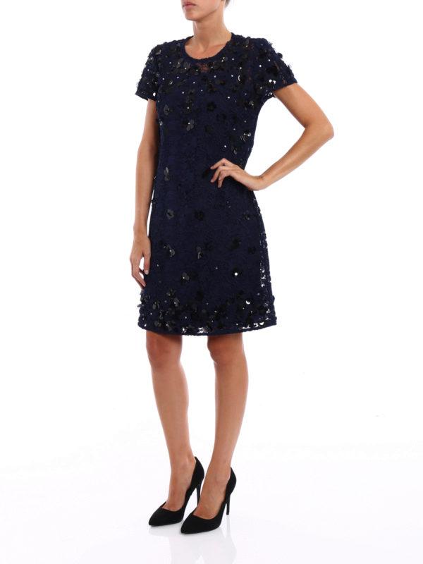 Embellished lace and tulle dress shop online: Michael Kors