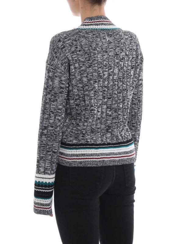 V-Pullover - Bunt shop online: DONDUP