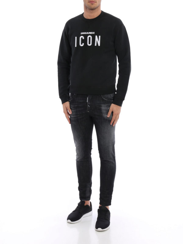 Sweatshirt - Gemustert shop online: Dsquared2
