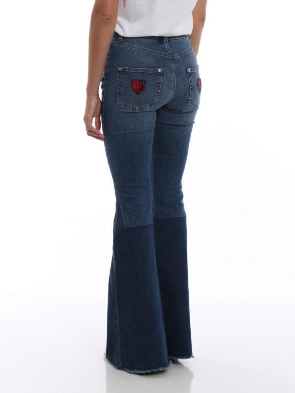 Schlagjeans - Jeansblau shop online: DOLCE & GABBANA
