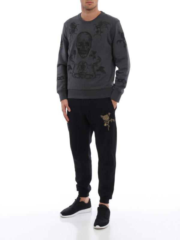 Sweatshirt - Dunkelgrau shop online: ALEXANDER MCQUEEN