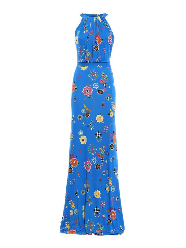 Emilio Pucci: maxi dresses - Floral print maxi dress