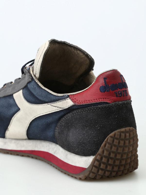 Sneakers scarpe DIADORA HERITAGE EQUIPE sw Dirty Evo Blue Nights Charcoal Gray