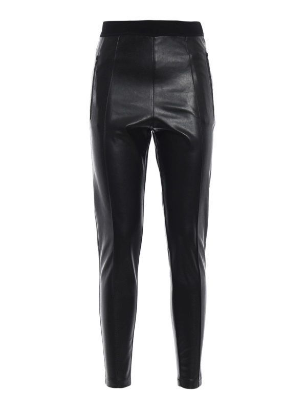ERMANNO SCERVINO: Leggings - Leggings - Schwarz