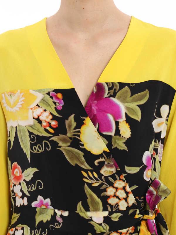 Etro buy online Tie silk blouse