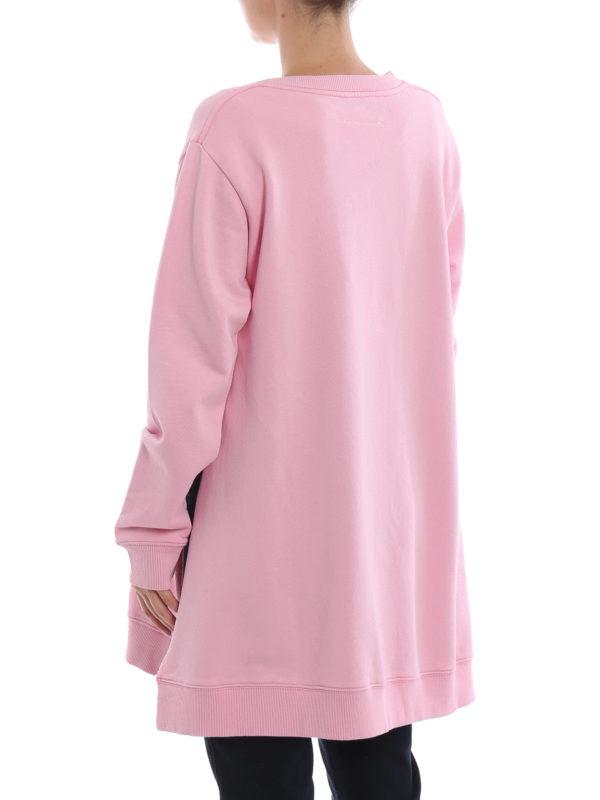 Sweatshirt - Pink shop online: MM6 MAISON MARGIELA
