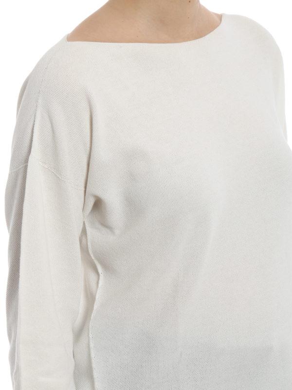FABIANA FILIPPI buy online White rice stitch cotton sweater