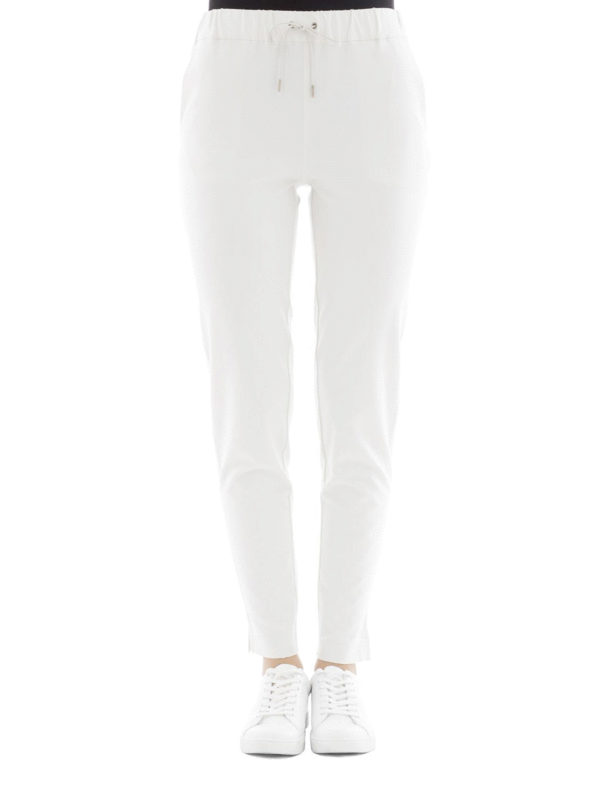 FABIANA FILIPPI: tracksuit bottoms online - Cotton blend sporty trousers
