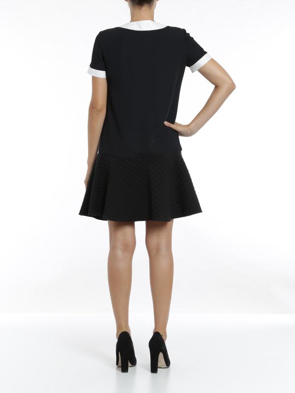 Faux collar dress shop online: M Missoni