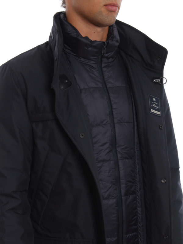 wholesale dealer b9e67 34b93 Fay - Grand-Stadium two-in-one jacket - padded jackets ...