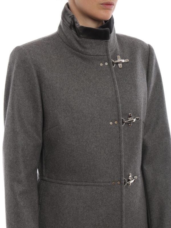 FAY buy online Kurzer Mantel - Grau