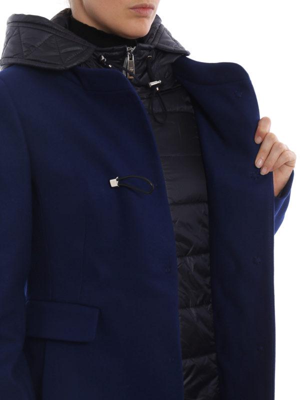 FAY buy online Kurzer Mantel - Blau