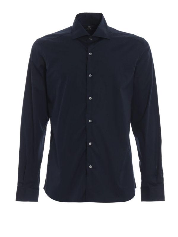 FAY: Hemden - Hemd - Dunkelblau