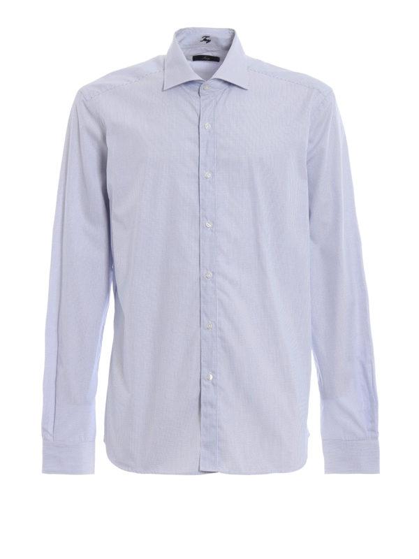 FAY: Hemden - Hemd - Hellblau