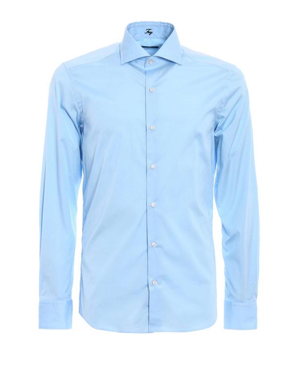 Nuevo Camisa - Azul Claro de Fay - Camisas - NCMA136262SORMU003 - LZAYKDN