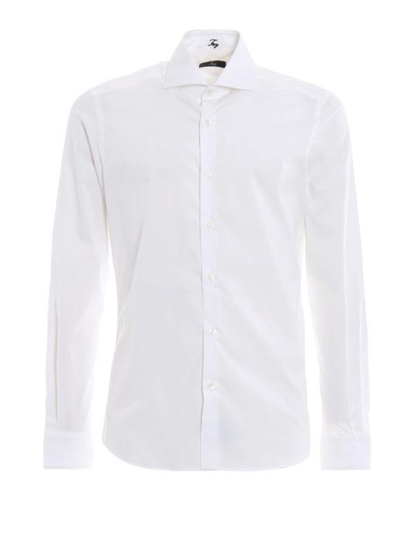 FAY: Hemden - Hemd - Weiß