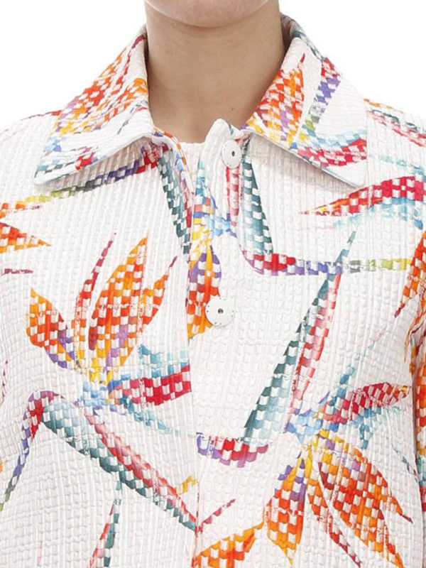 Fendi buy online Bird of Paradise print jacket