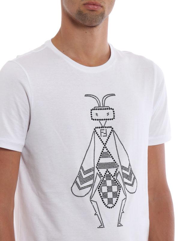 FENDI buy online T-Shirt - Weiß