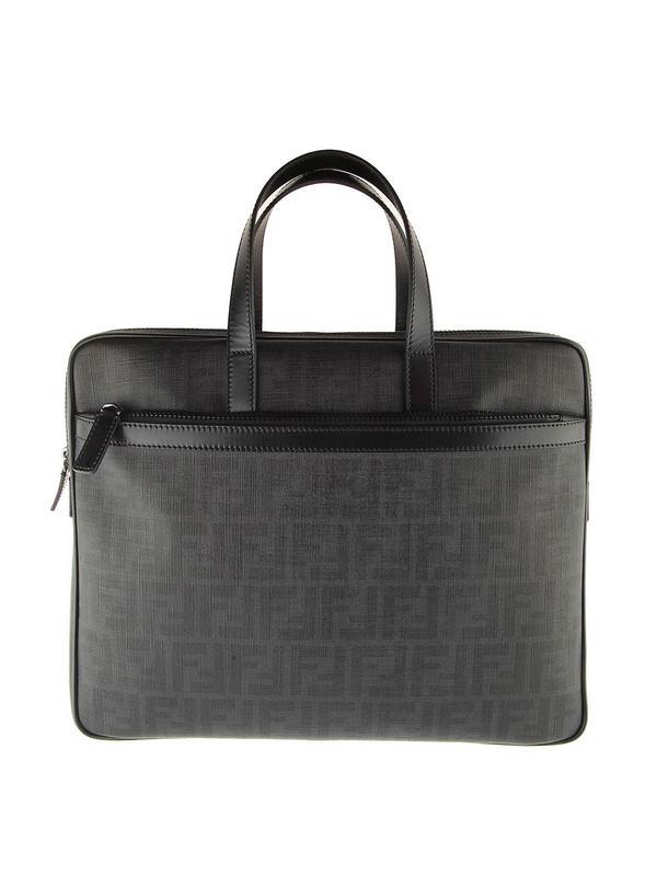 Fendi: Laptoptaschen und Aktentaschen - Zucca laptop bag