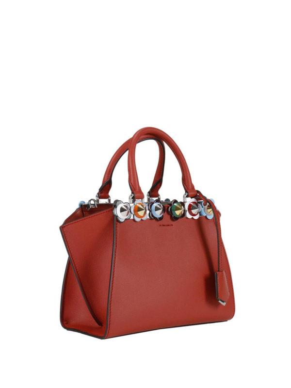 Fendi: Handtaschen online - Shopper - Rot