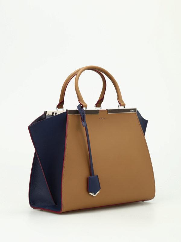 Fendi: Handtaschen online - Shopper - Dunkelbeige