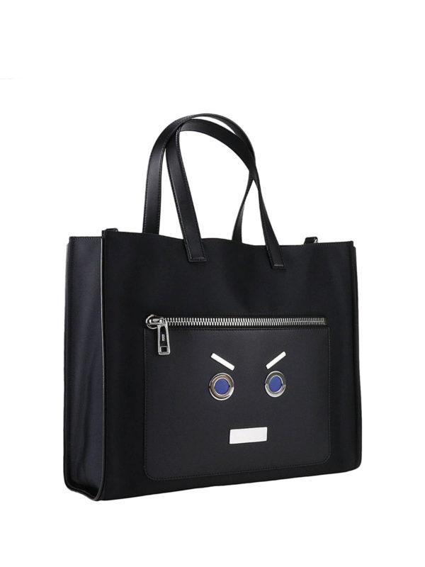 FENDI: Handtaschen online - Shopper - Schwarz