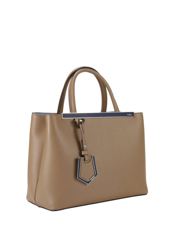Fendi: Handtaschen online - Shopper - Beige