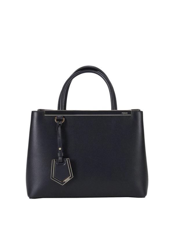 Fendi: Handtaschen - Shopper - Schwarz