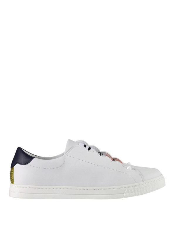 Fendi: Sneaker - Sneaker - Gemustert
